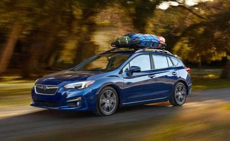 Redesigned 2017 Subaru Impreza Ticks Up $100, Keeps Five-Speed Manual