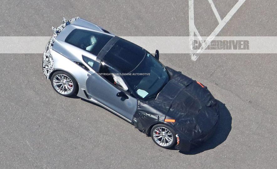 2018 Chevrolet Corvette ZR1 (spy photo) - Slide 30