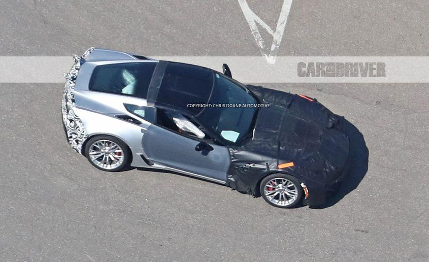 2018 Chevrolet Corvette ZR1 (spy photo) - Slide 31