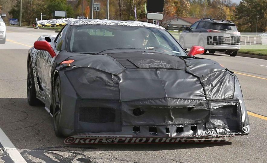 2018 Chevrolet Corvette ZR1 (spy photo) - Slide 2