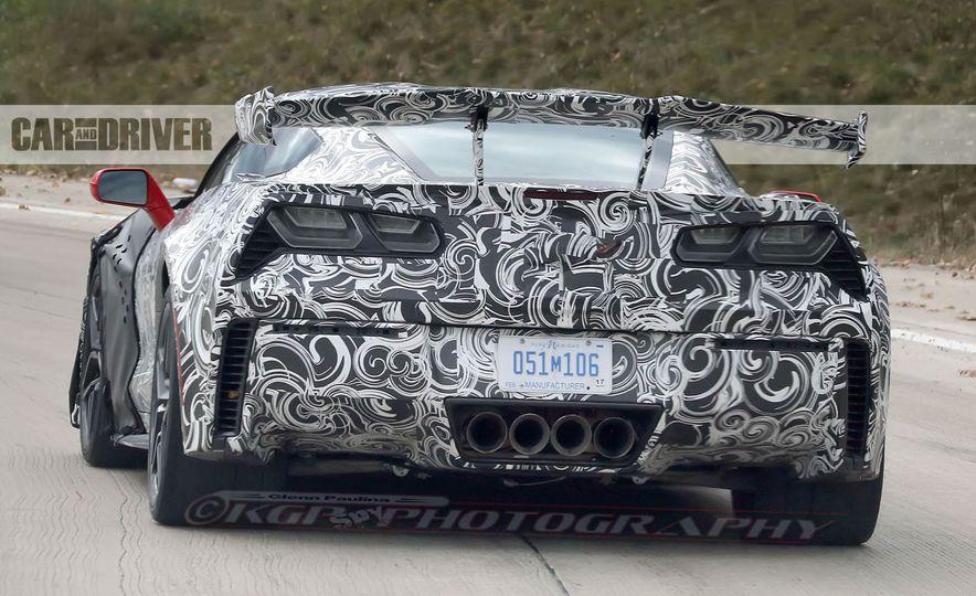 2018 Chevrolet Corvette ZR1 (spy photo) - Slide 14
