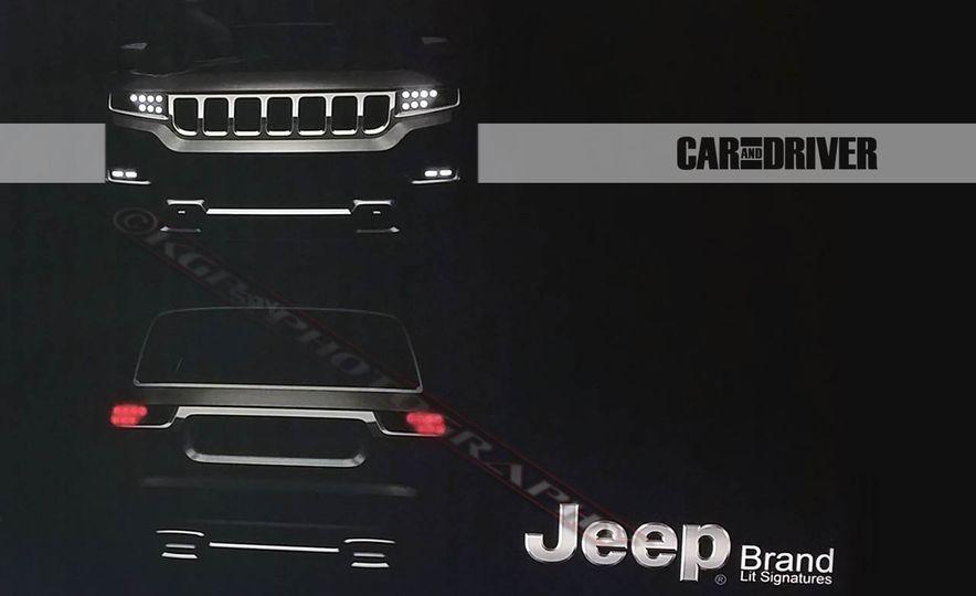 2019 Jeep Grand Wagoneer (spy photo) - Slide 3