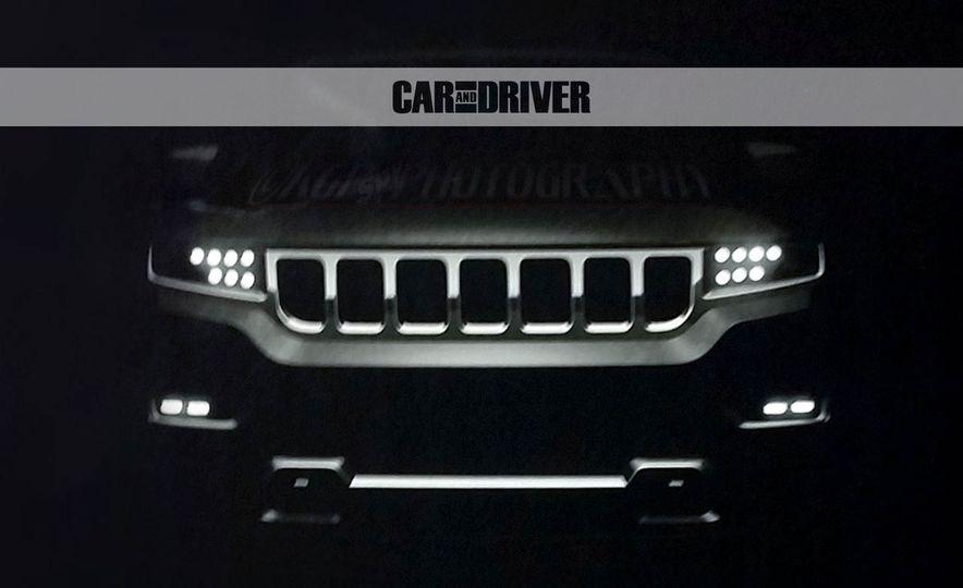 2019 Jeep Grand Wagoneer (spy photo) - Slide 4