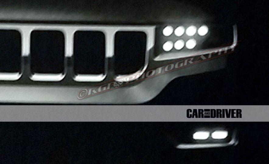 2019 Jeep Grand Wagoneer (spy photo) - Slide 6