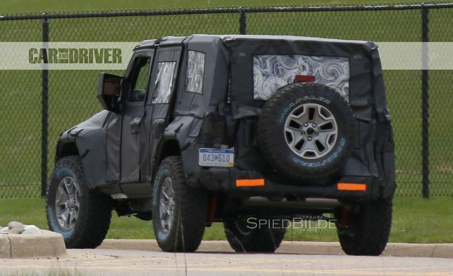 2018 Jeep Wrangler (spy photo) - Slide 17