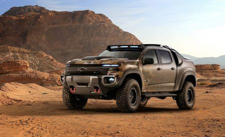 "Chevrolet Colorado ZH2 Fuel-Cell Vehicle Is Basically Made for ""Halo"""