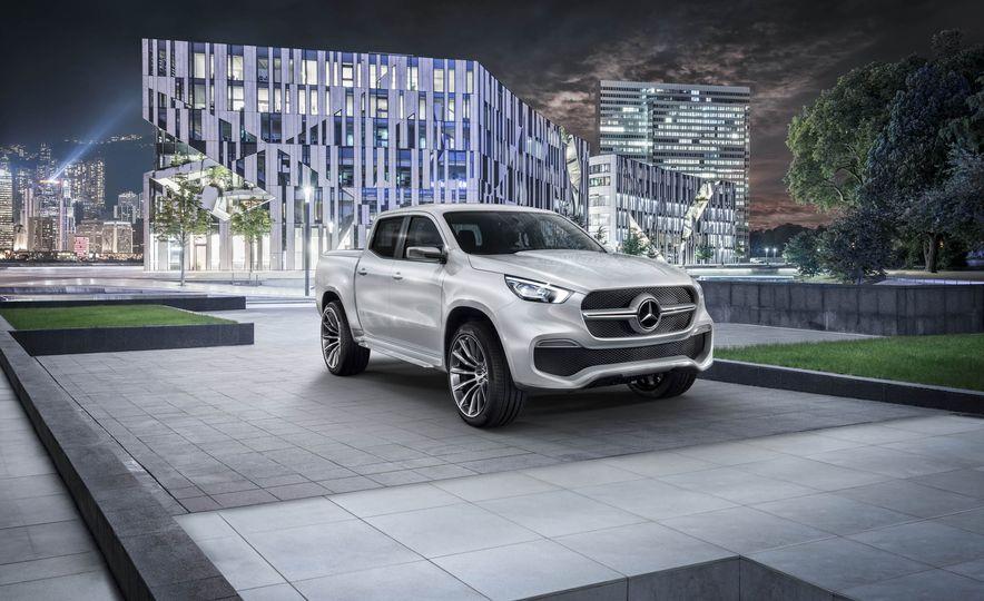Mercedes-Benz X-class concept - Slide 12