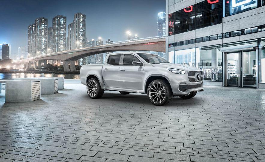 Mercedes-Benz X-class concept - Slide 13