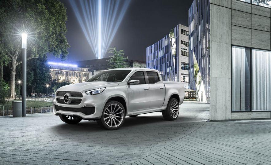 Mercedes-Benz X-class concept - Slide 14