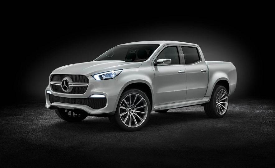 Mercedes-Benz X-class concept - Slide 18