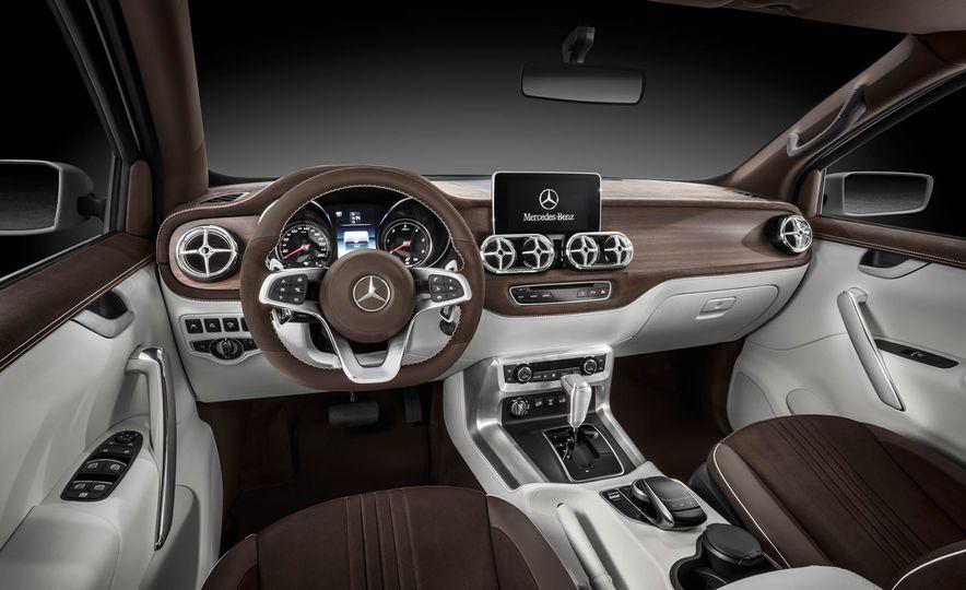Mercedes-Benz X-class concept - Slide 22