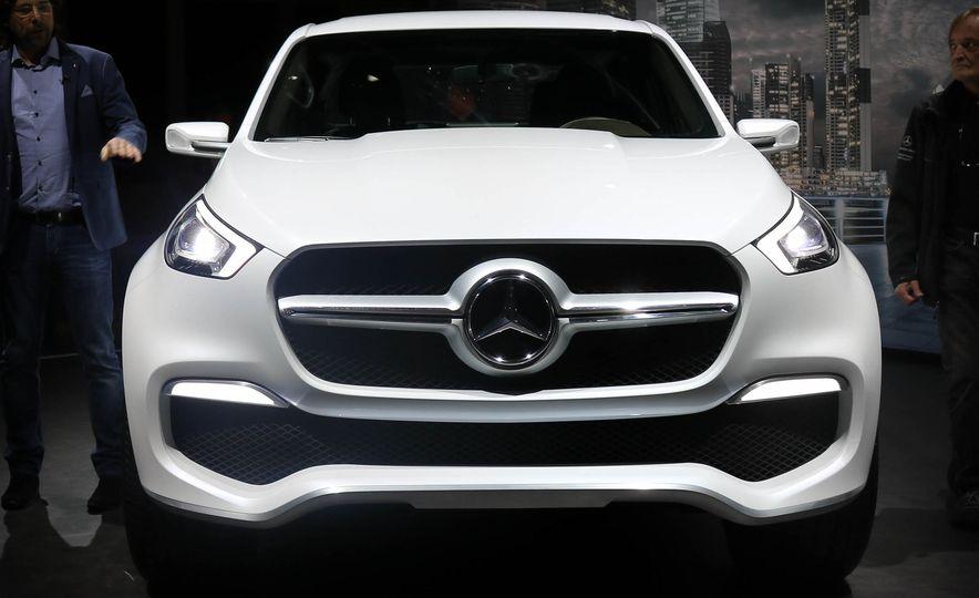 Mercedes-Benz X-class concept - Slide 1