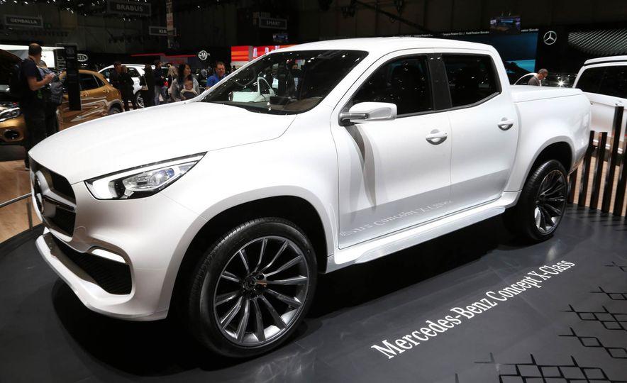 Mercedes-Benz X-class concept - Slide 7