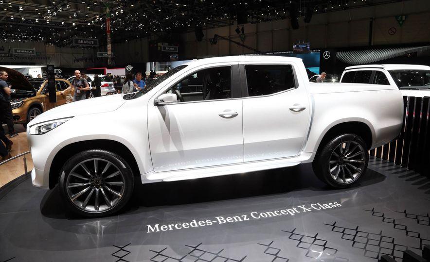 Mercedes-Benz X-class concept - Slide 8