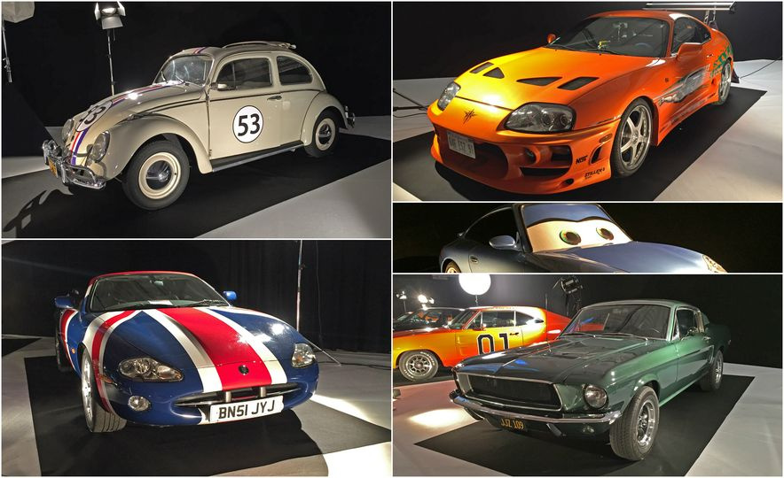 Les Stars du Cinema: The 20 Most Iconic Movie Cars on Display at the 2016 Paris Auto Show - Slide 1