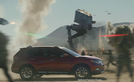 Watch the Nissan Rogue Evade AT-STs and AT-ACTs in New Star Wars–Inspired Ad