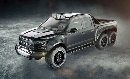 Hennessey Ford F-150 Raptor 6×6: 150 More Horsepower, 50 Percent More Wheels