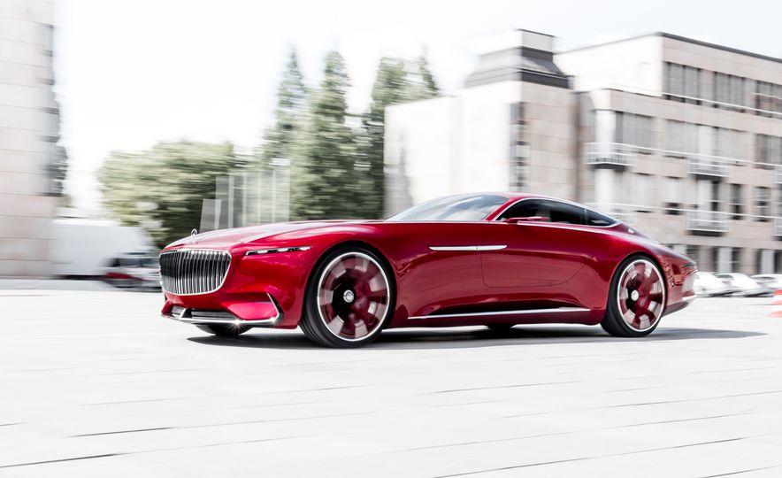 Vision Mercedes-Maybach 6 concept - Slide 1
