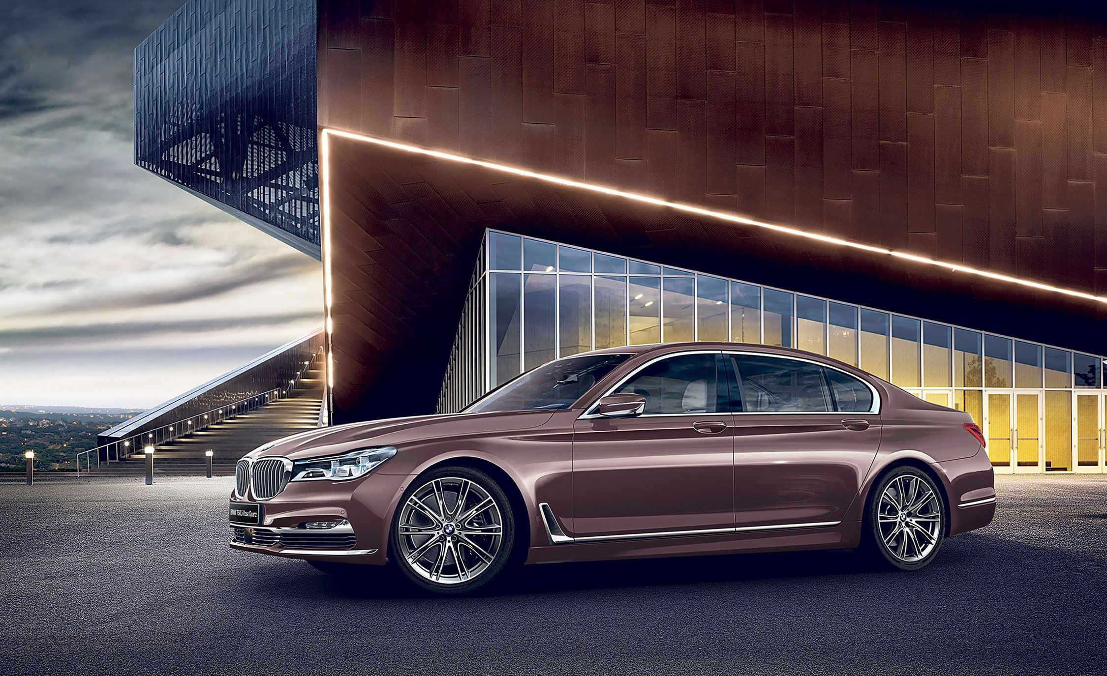 Bmw 7 Series Rose Quartz Edition Is Just For Japan News Car And