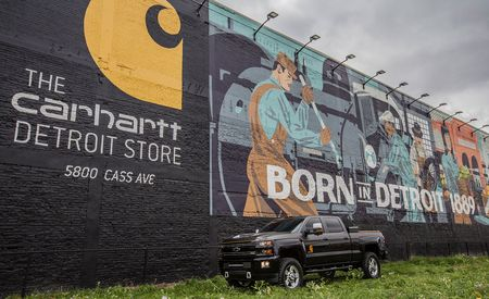 Carhartt Chevy Silverado Is a Match Made in Detroit