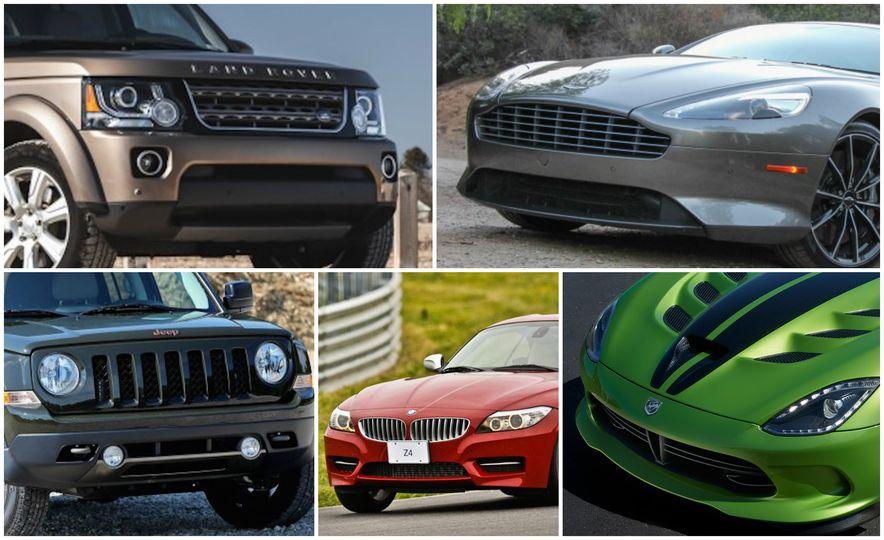 Death Metal: 20 Cars That Won't See 2017 - Slide 1