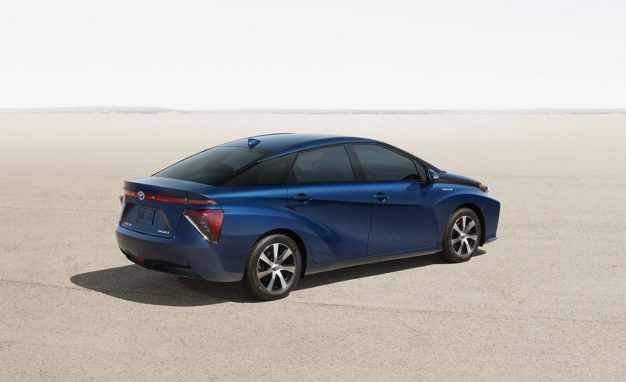 gallery-1475621505-toyota-mirai-back 8 things you must know before buying a fuel-cell vehicle 8 Things You Must Know before Buying a Fuel-Cell Vehicle gallery 1475621505 toyota mirai back 626x382