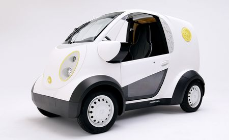 Electric 3D-Printed Cookie-Delivery Car Rises from Honda and Kabuku Collaboration