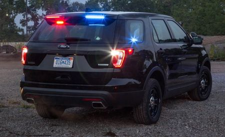 Slicktop Fade: Ford Hides Explorer's Police Lights in Rear Spoiler