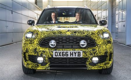New Mini Countryman SUV Will Dive into the Plug-In-Hybrid Pool
