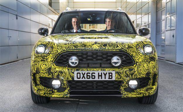 New Mini Countryman SUV Will Dive into the Plug-In-Hybrid Pool