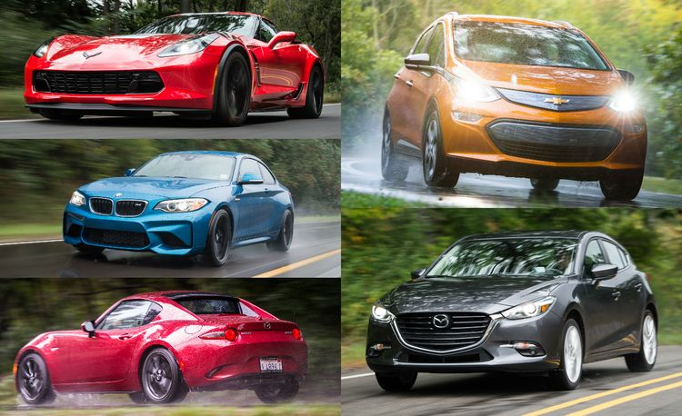And the Winners Are: 2017 10Best Cars in Pictures