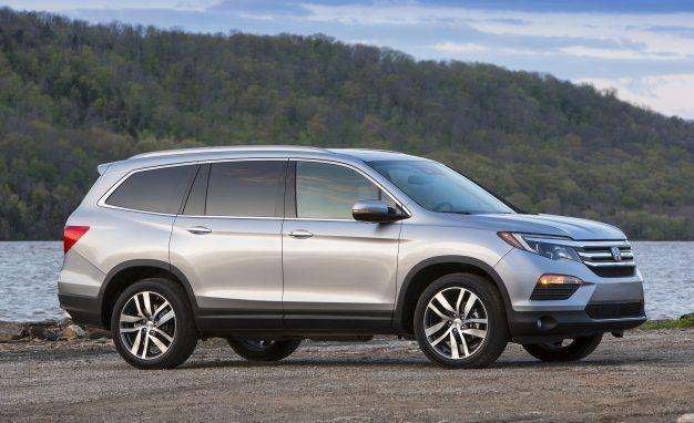 Honda Pilot Reviews Price Photos And Specs Car Driver