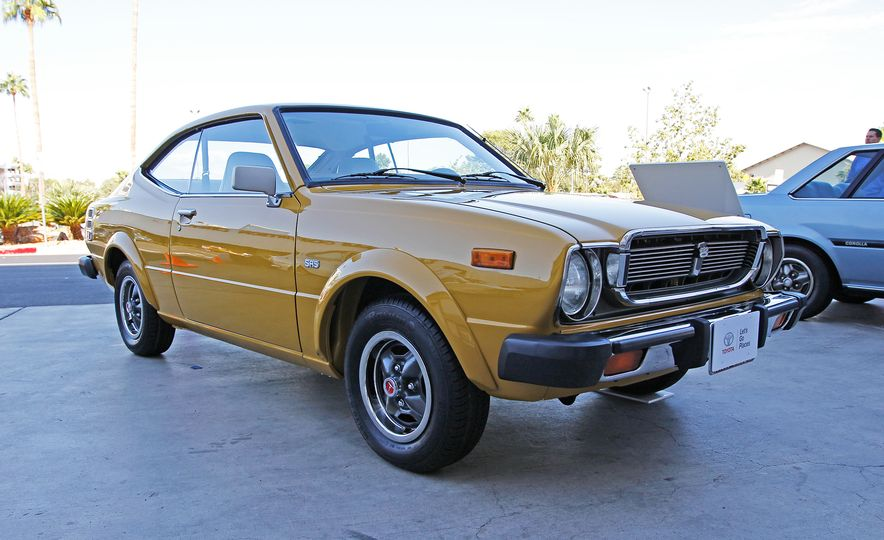 The Not-So-Wild Cars of SEMA: All 11 Generations of the Toyota Corolla - Slide 4