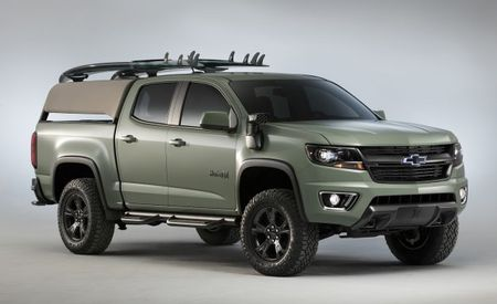Gnarly, Brah: Chevrolet Colorado Z71 Hurley Concept Is a Surfer's Dream