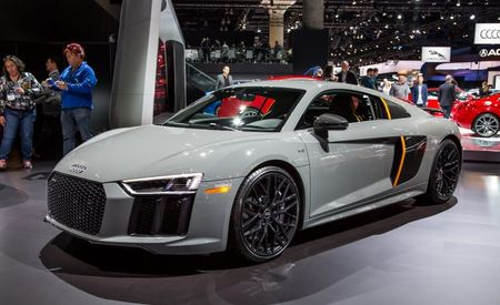Hit Me with Those Laser Beams! 2017 Audi R8 V10 Plus Exclusive Edition Has Laser High-Beams
