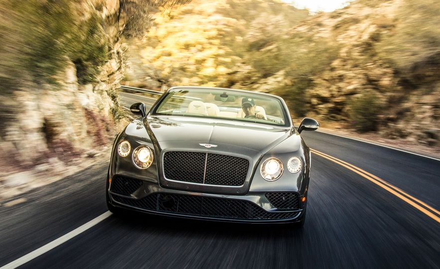 2017 Bentley Continental GT V8 S convertible and 2017 Mercedes-A - Slide 6