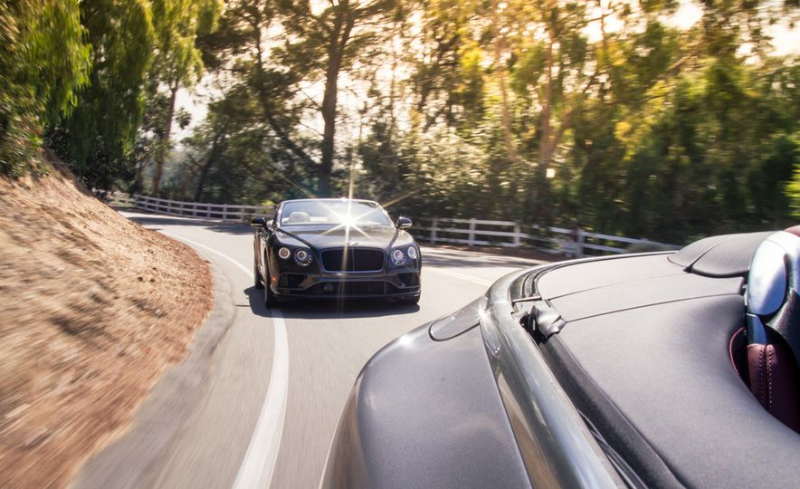 2017 Bentley Continental GT V8 S convertible and 2017 Mercedes-A - Slide 8