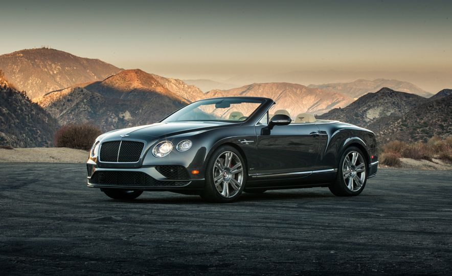 2017 Bentley Continental GT V8 S convertible and 2017 Mercedes-A - Slide 9