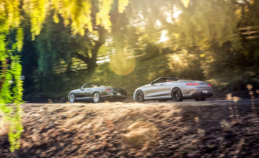2017 Bentley Continental GT V8 S convertible and 2017 Mercedes-A - Slide 2