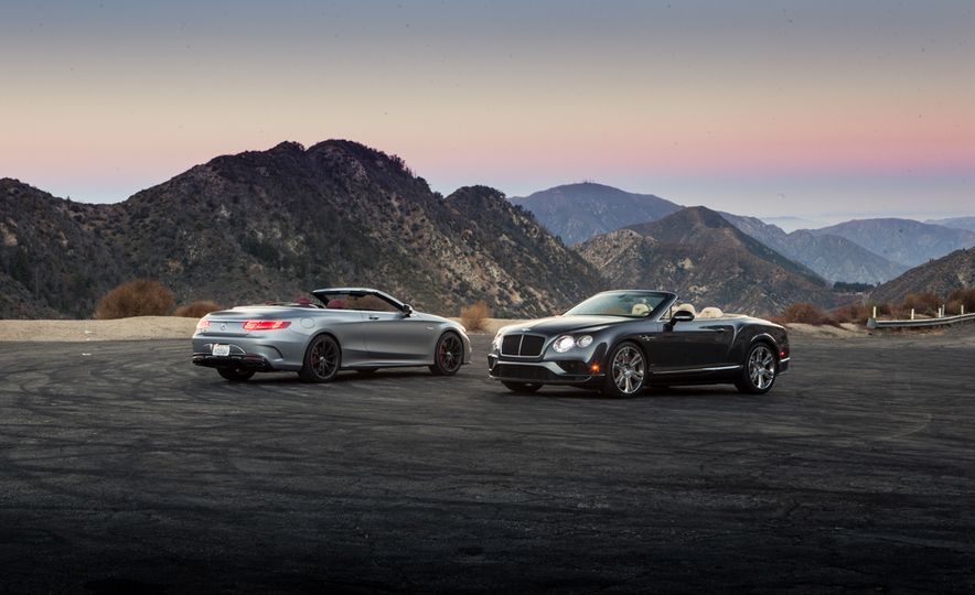 2017 Bentley Continental GT V8 S convertible and 2017 Mercedes-A - Slide 5