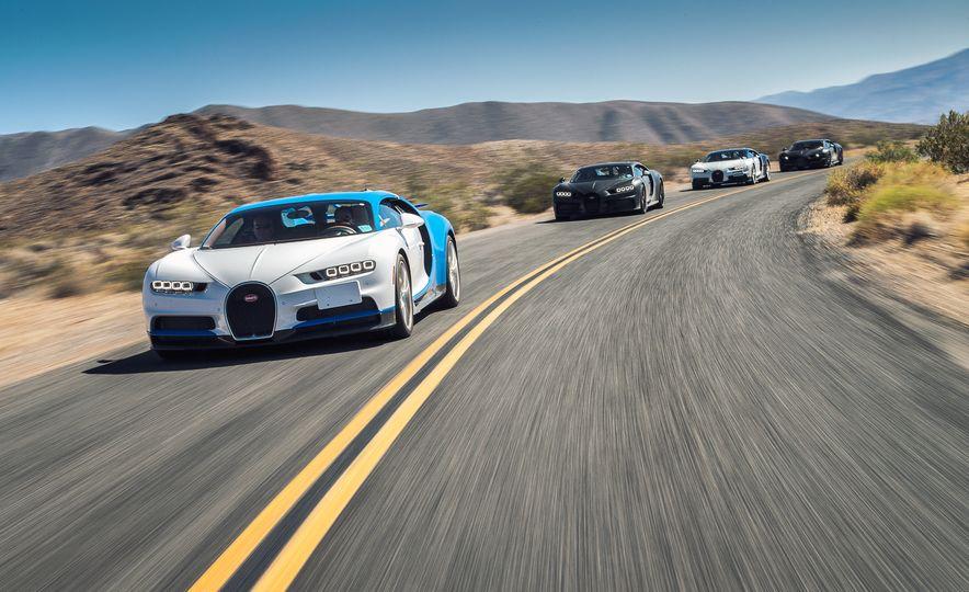 2017 Bugatti Chirons - Slide 1