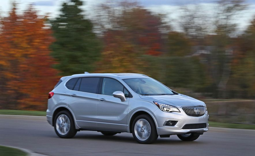 2017 Buick Envision AWD - Slide 12