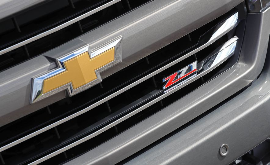 2017 Chevrolet Silverado 1500 LTZ Z71 - Slide 15
