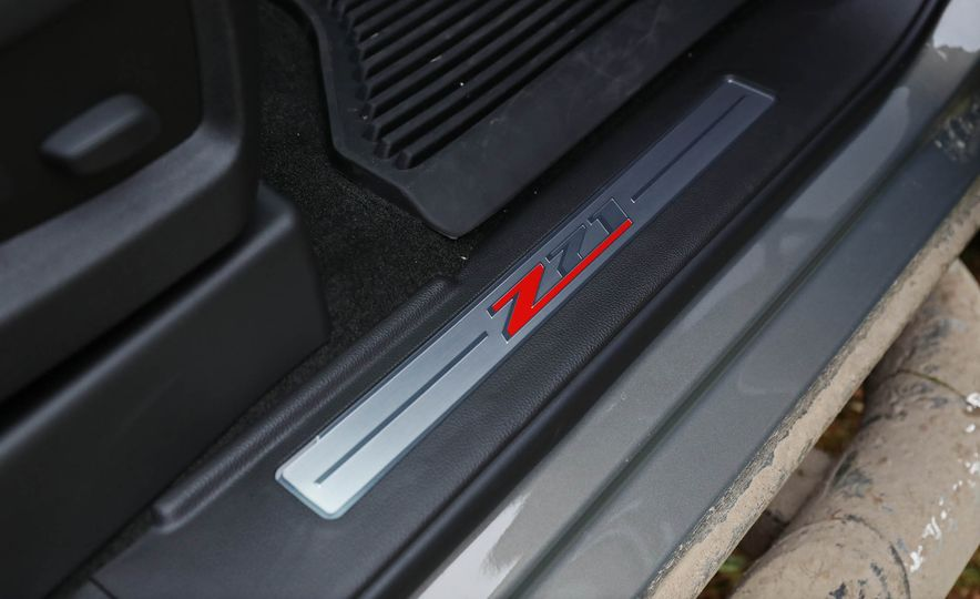2017 Chevrolet Silverado 1500 LTZ Z71 - Slide 58