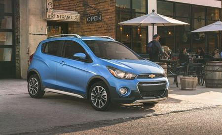 2017 Chevrolet Spark Activ Dons Pseudo-Crossover Coat—Or Maybe It's More of a Light Jacket