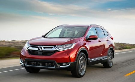 2017 Honda CR-V Starts at $24,945, Spools Up Turbos for $27,595