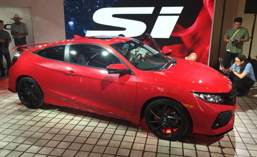 2017 Honda Civic Si coupe prototype - Slide 19