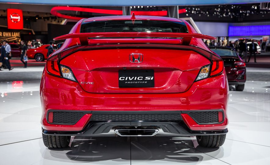 2017 Honda Civic Si coupe prototype - Slide 4