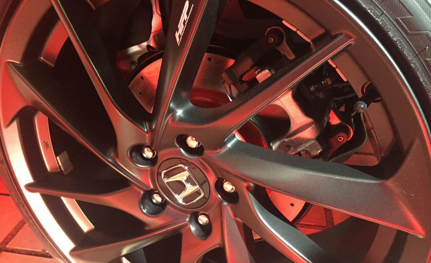 2017 Honda Civic Si coupe prototype - Slide 23