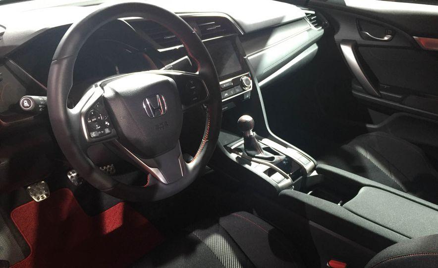 2017 Honda Civic Si coupe prototype - Slide 25